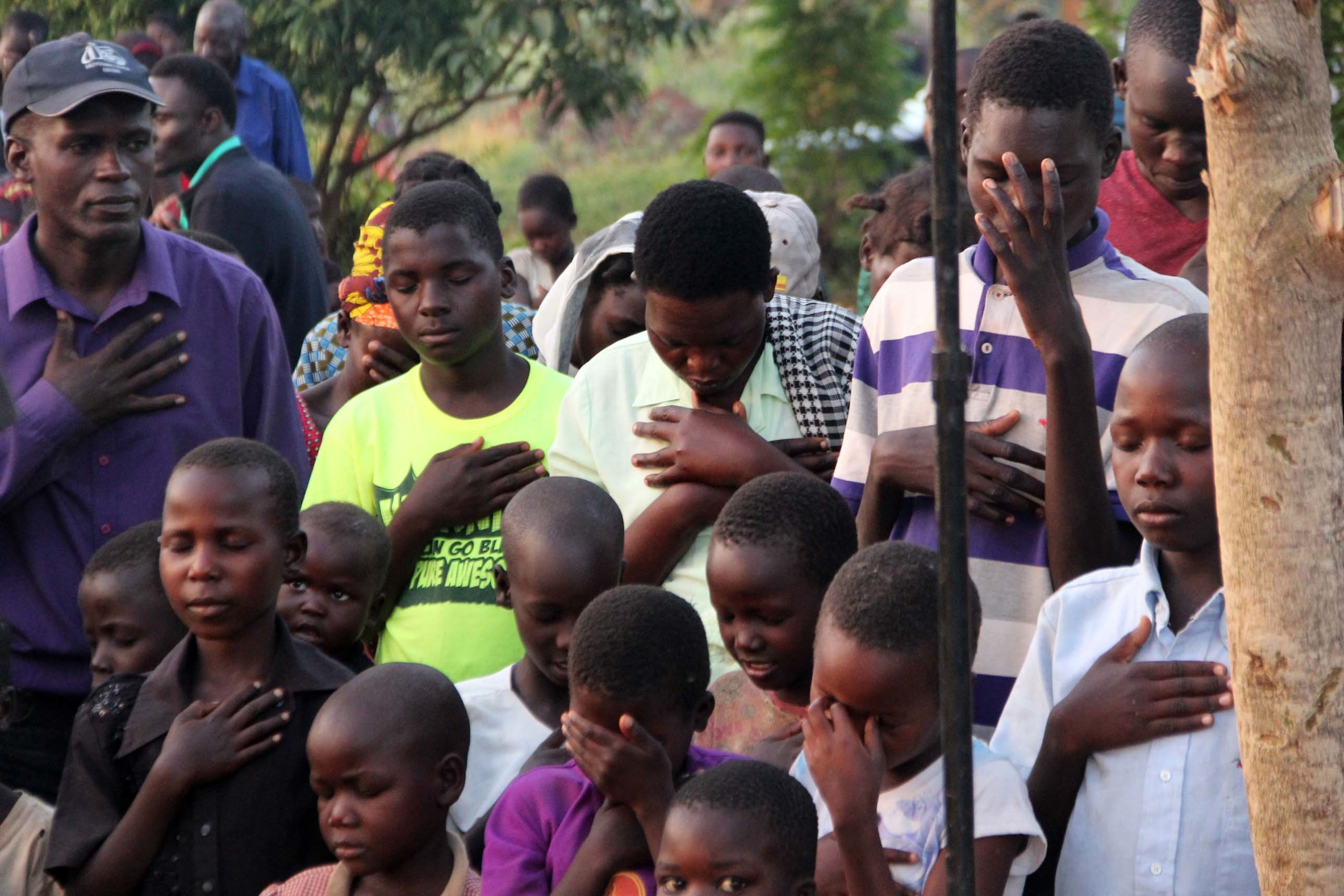 Ministering to the Community in Kanyum
